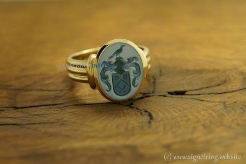 Greenlayered stones ring stone signetring gold signet rings