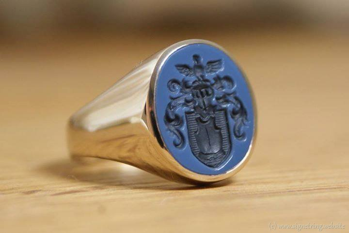 Ring signet rings zegelring