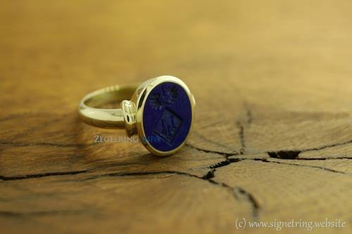 Stone signetring gold signet rings ring