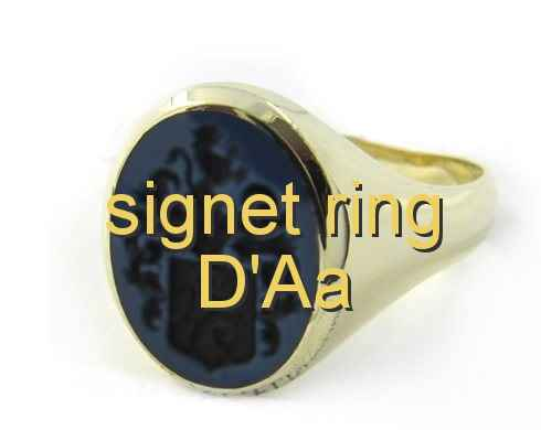 signet ring D'Aa