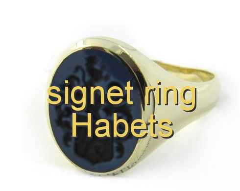 signet ring Habets
