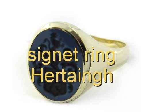 signet ring Hertaingh