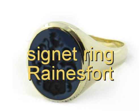 signet ring Rainesfort